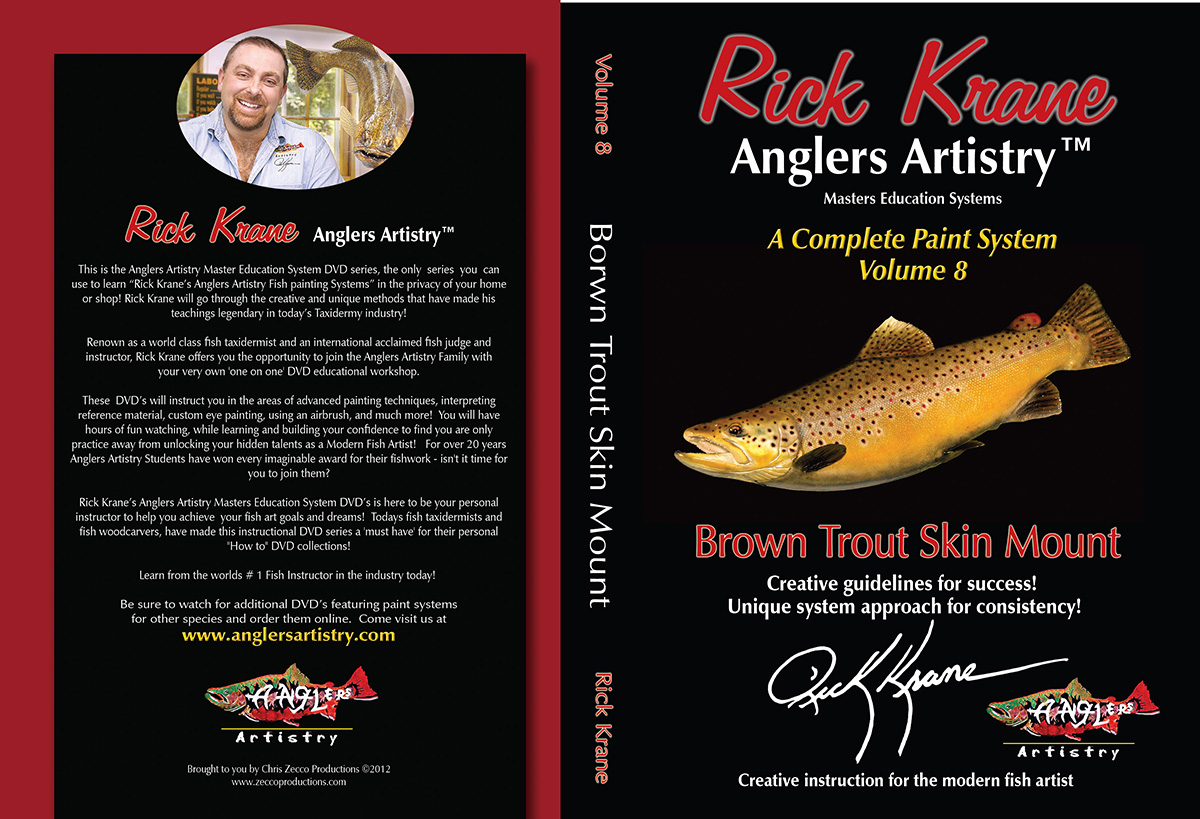 Volume 8 - Brown Trout Skin Mount