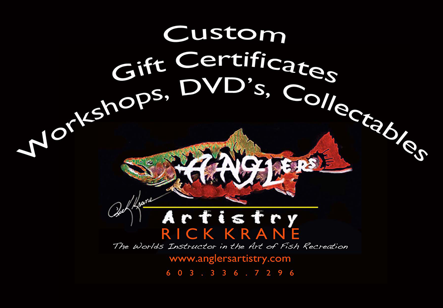 Anglers Artistry Gift Card - Click Image to Close