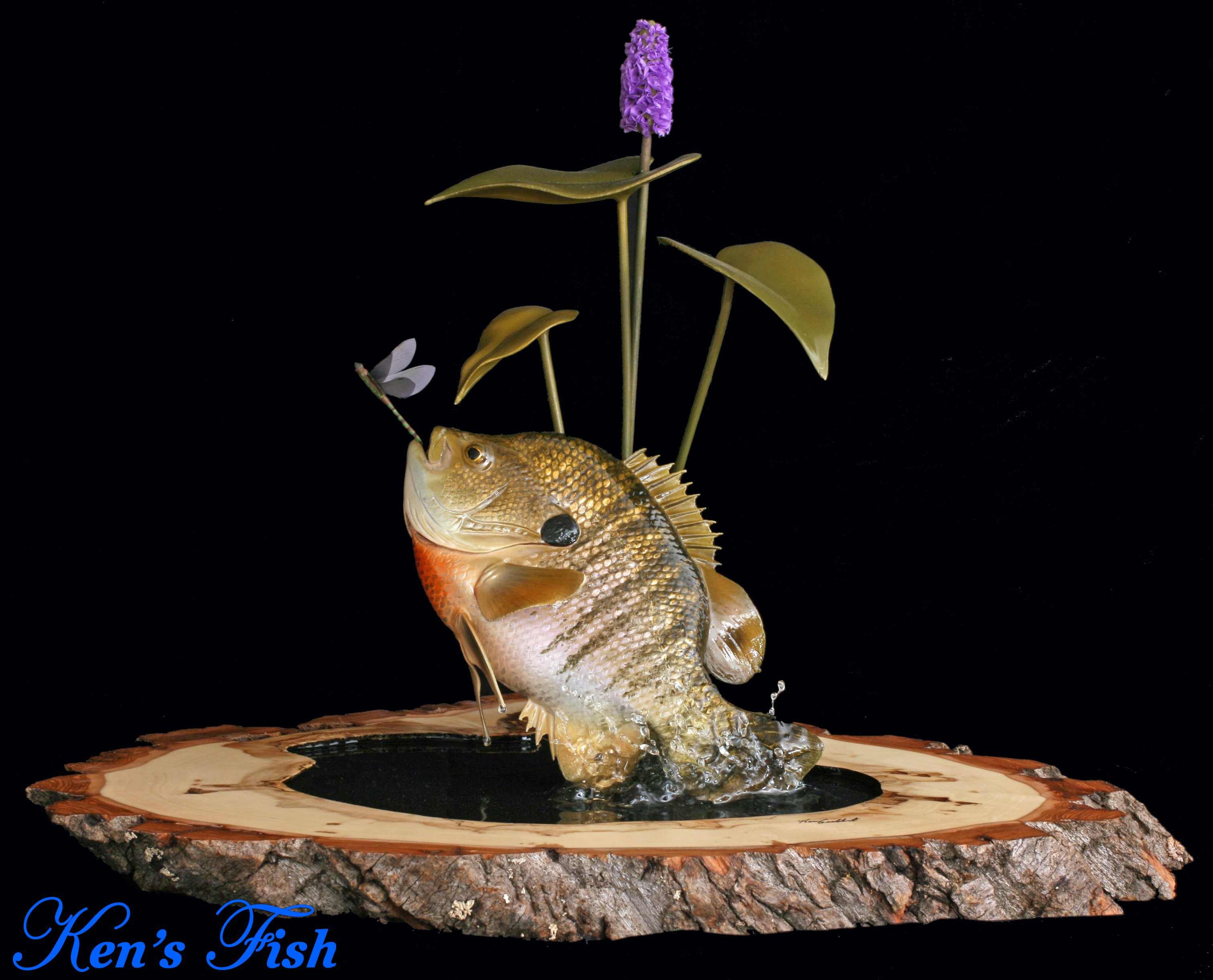 Ken grabbert anglers artistry the art of taxidermy with