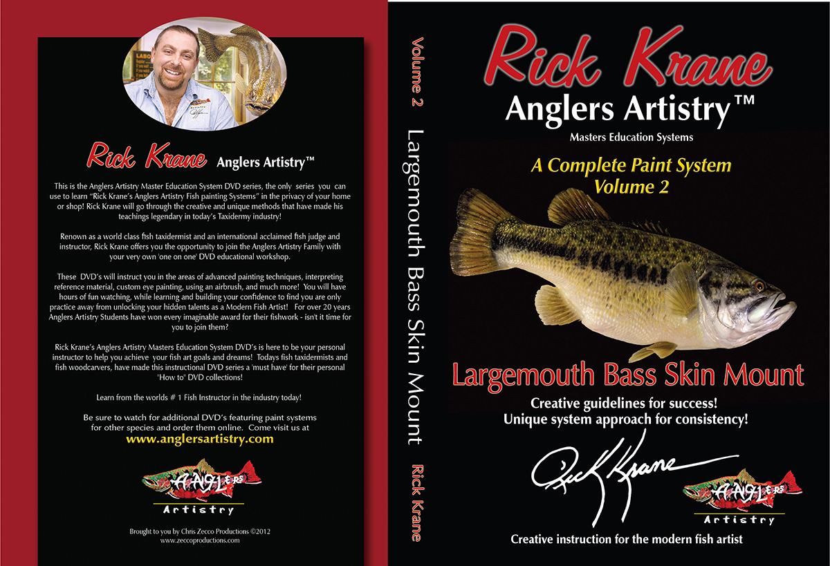 Volume 2 - Largemouth Bass Skin Mount