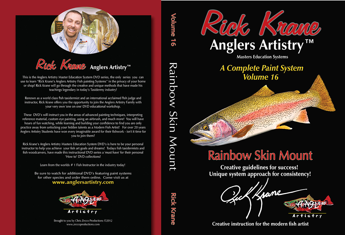 Volume 16 - Rainbow Trout Skinmount