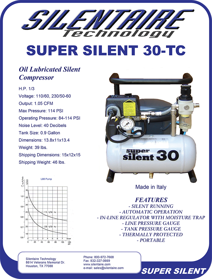 Silentaire Compressor 30TC