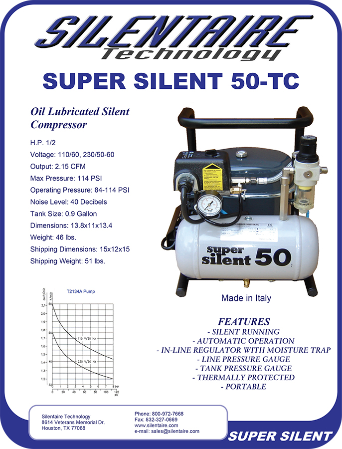 Silentaire Compressor 50TC