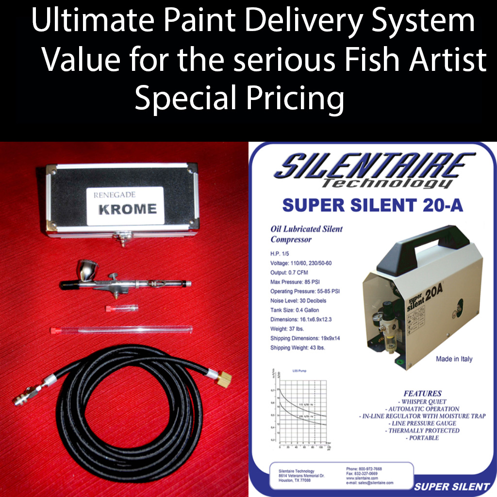 "Ultimate Paint Delivery System ""Silent Air 20A/ Krome"""