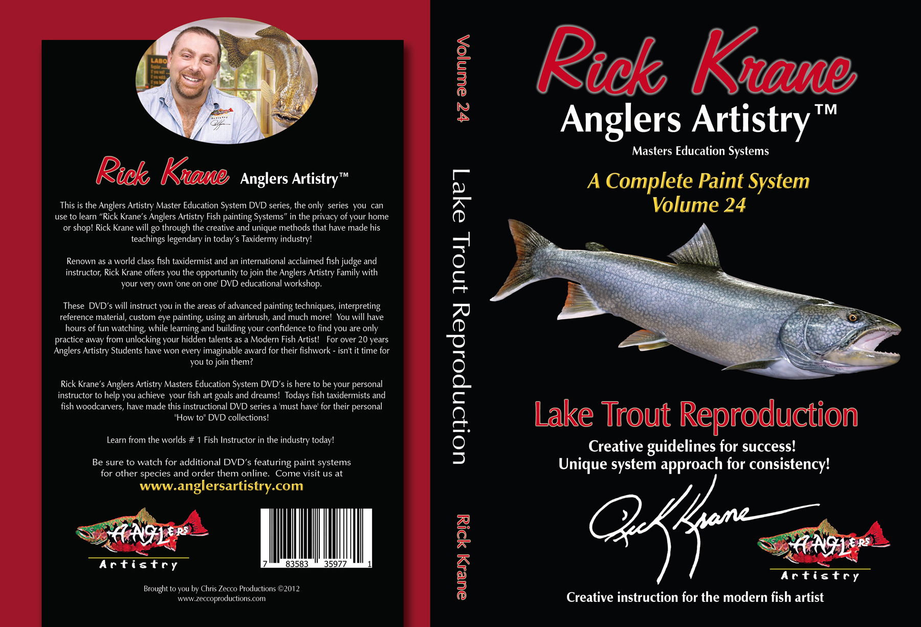 Volume 24 - Lake Trout Reproduction