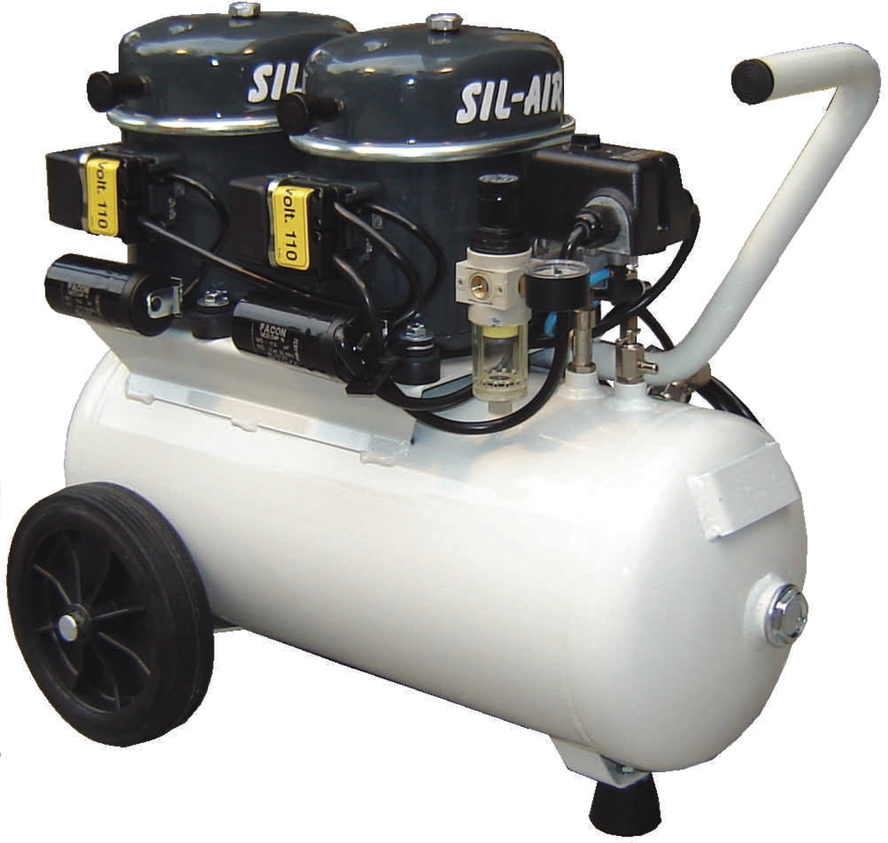 Silentaire Sil-Air 100-24 2x1/2 HP M29090