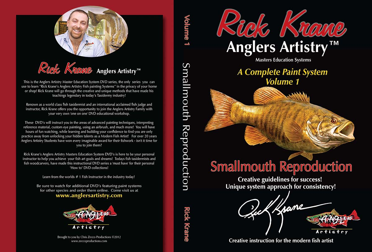 Volume 1 - Smallmouth Bass Reproduction - USB DRIVE