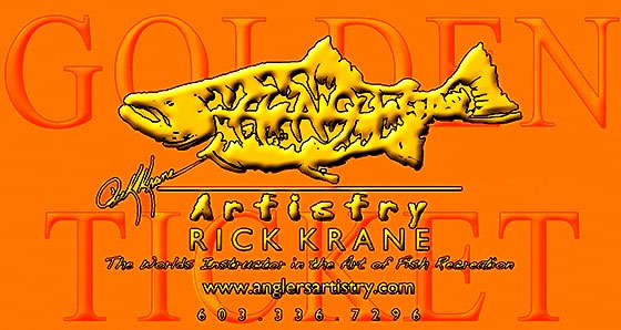 Rick Krane Anglers Artistry Golden Ticket